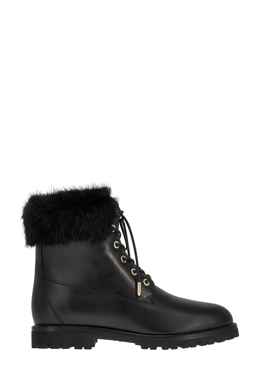 Aquazzura Кожаные ботинки The Heilbrunner ботинки кожаные с кисточками