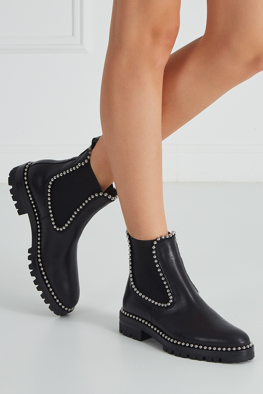 Alexander Wang Кожаные ботинки ботинки кожаные necko