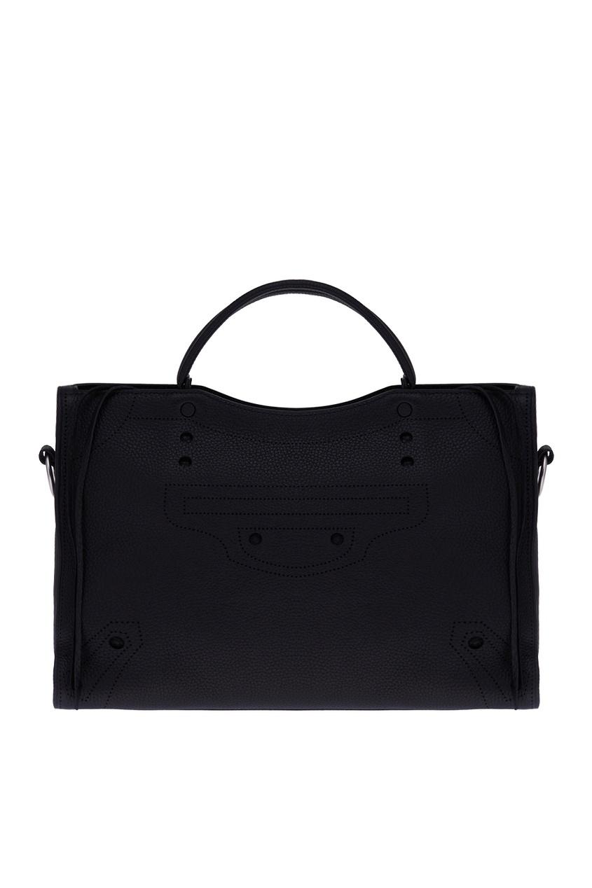 Balenciaga Кожаная сумка Blackout City M сумка balenciaga mini