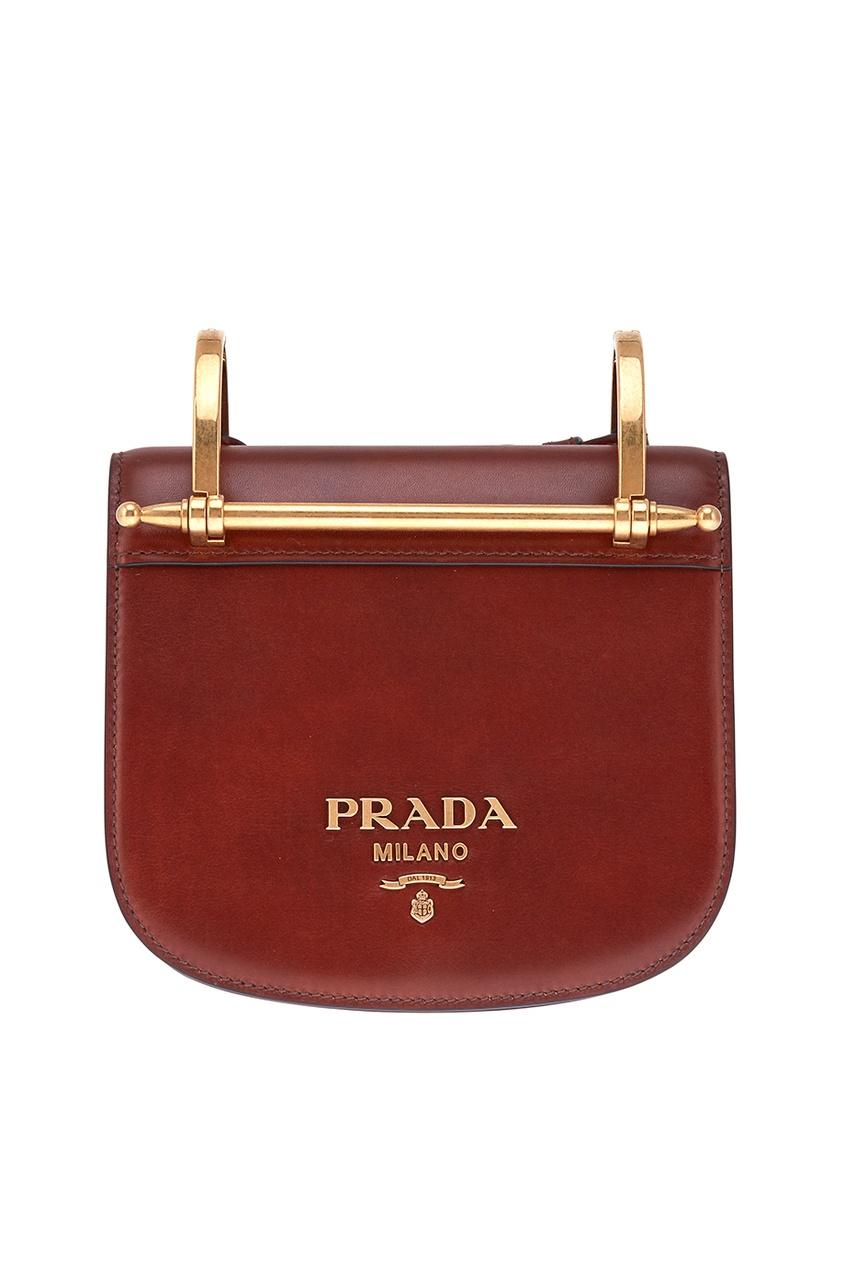 Prada Кожаная сумка Pionniere prada сумка от prada 100203