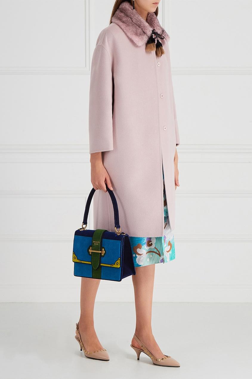 Бархатная сумка Cahier