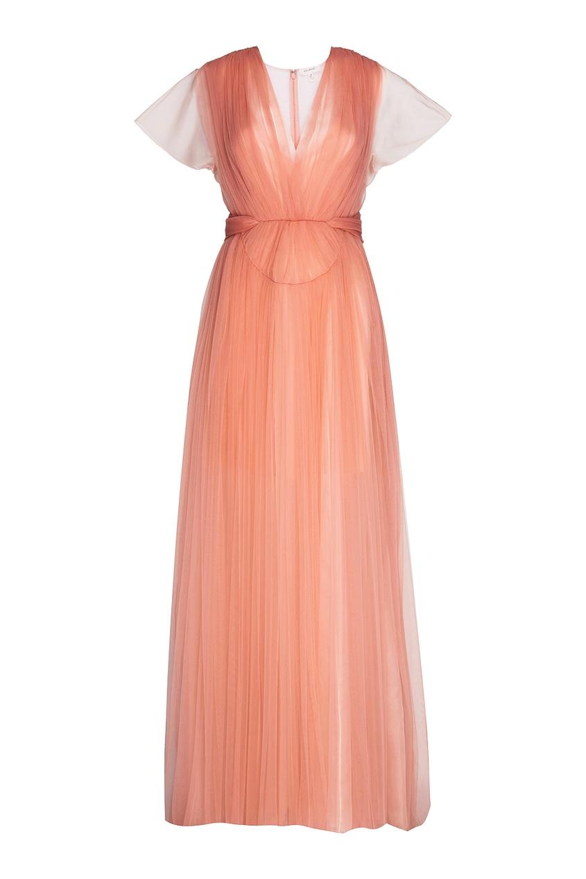 Драпированное платье
