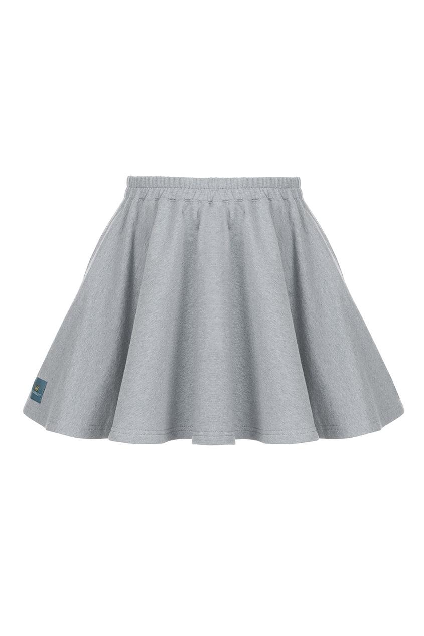 LISA&LEO Хлопковая юбка leo ventoni кошелек женский leo ventoni l330756 nero bianco