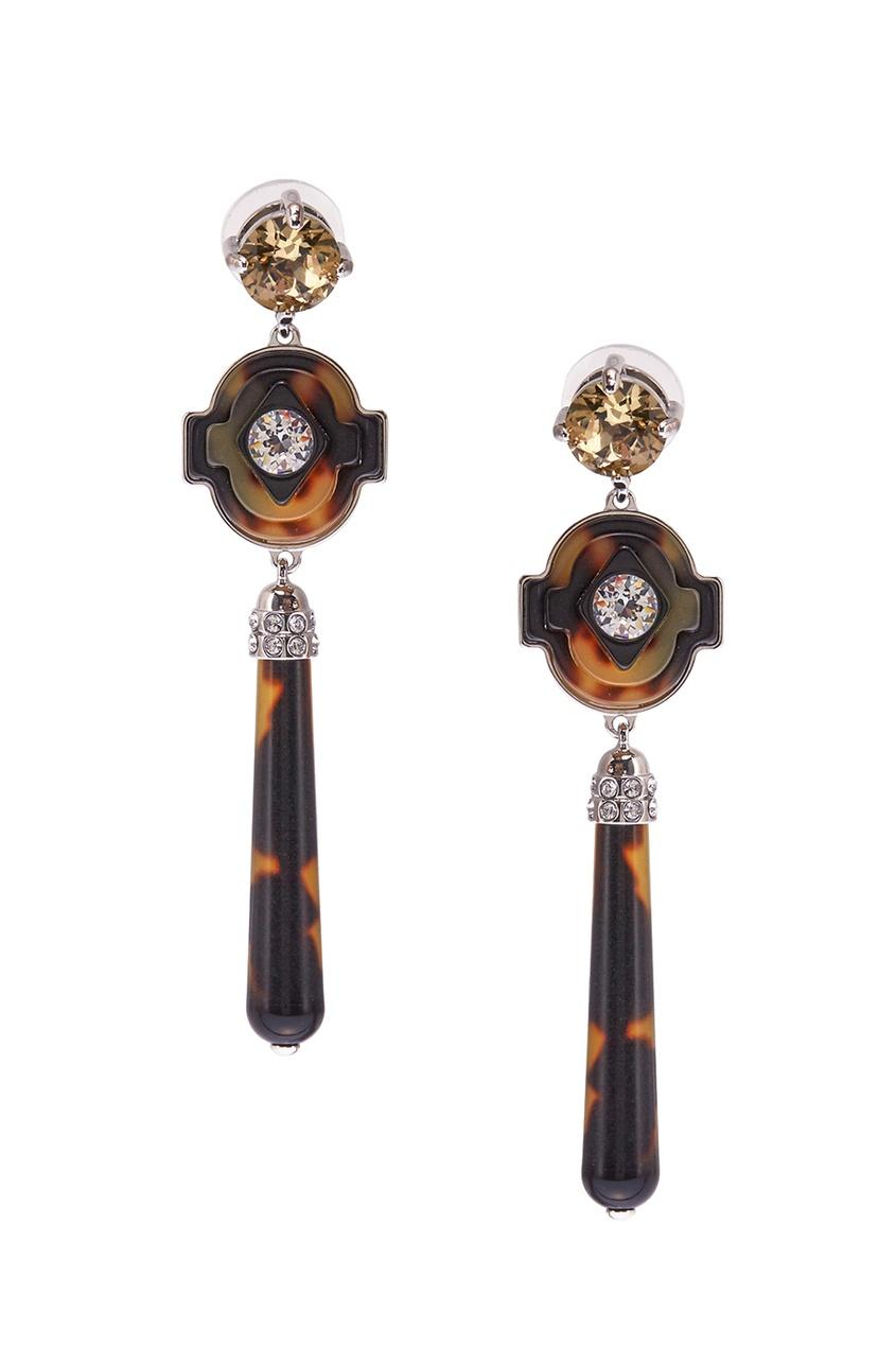 Prada Серьги с кристаллами