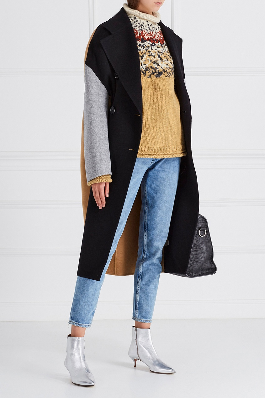 Acne Studios Шерстной свитер Sirius Icelandic acne studios хлопковый пуловер kus