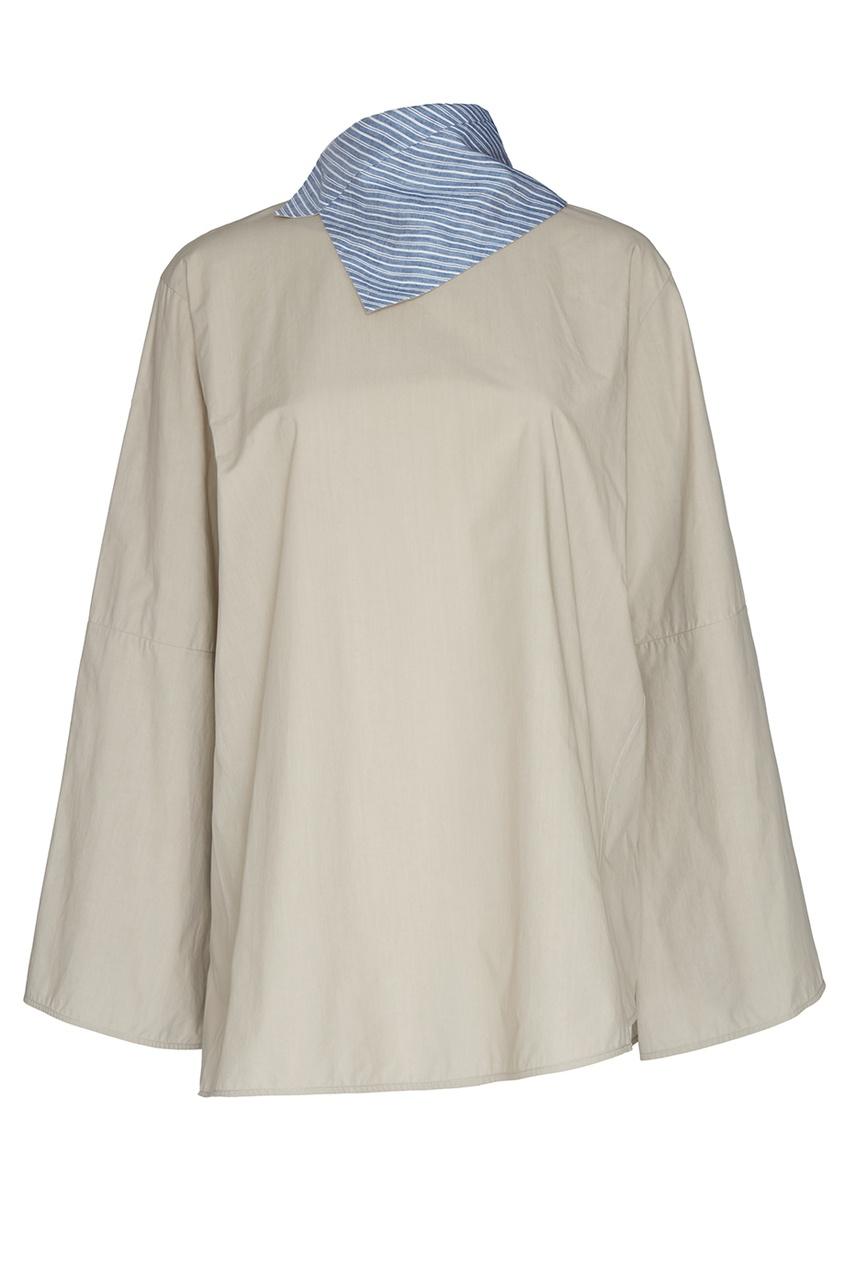 Acne Studios Хлопковая рубашка no 21 хлопковая рубашка с перьями