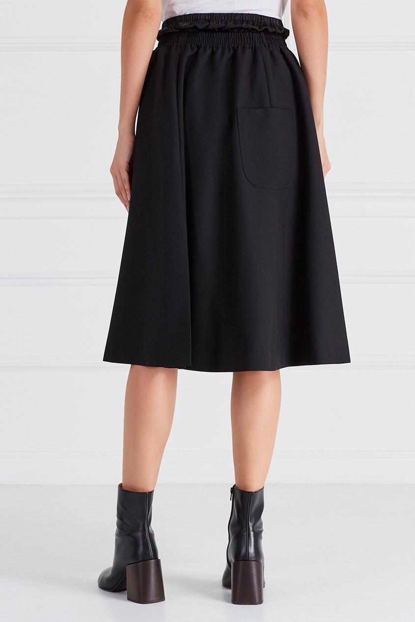 Шерстяная юбка Simea Struct