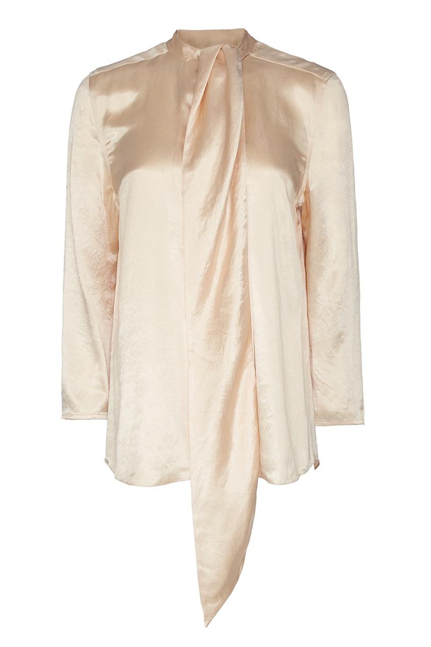 Однотонная блузка Bodil