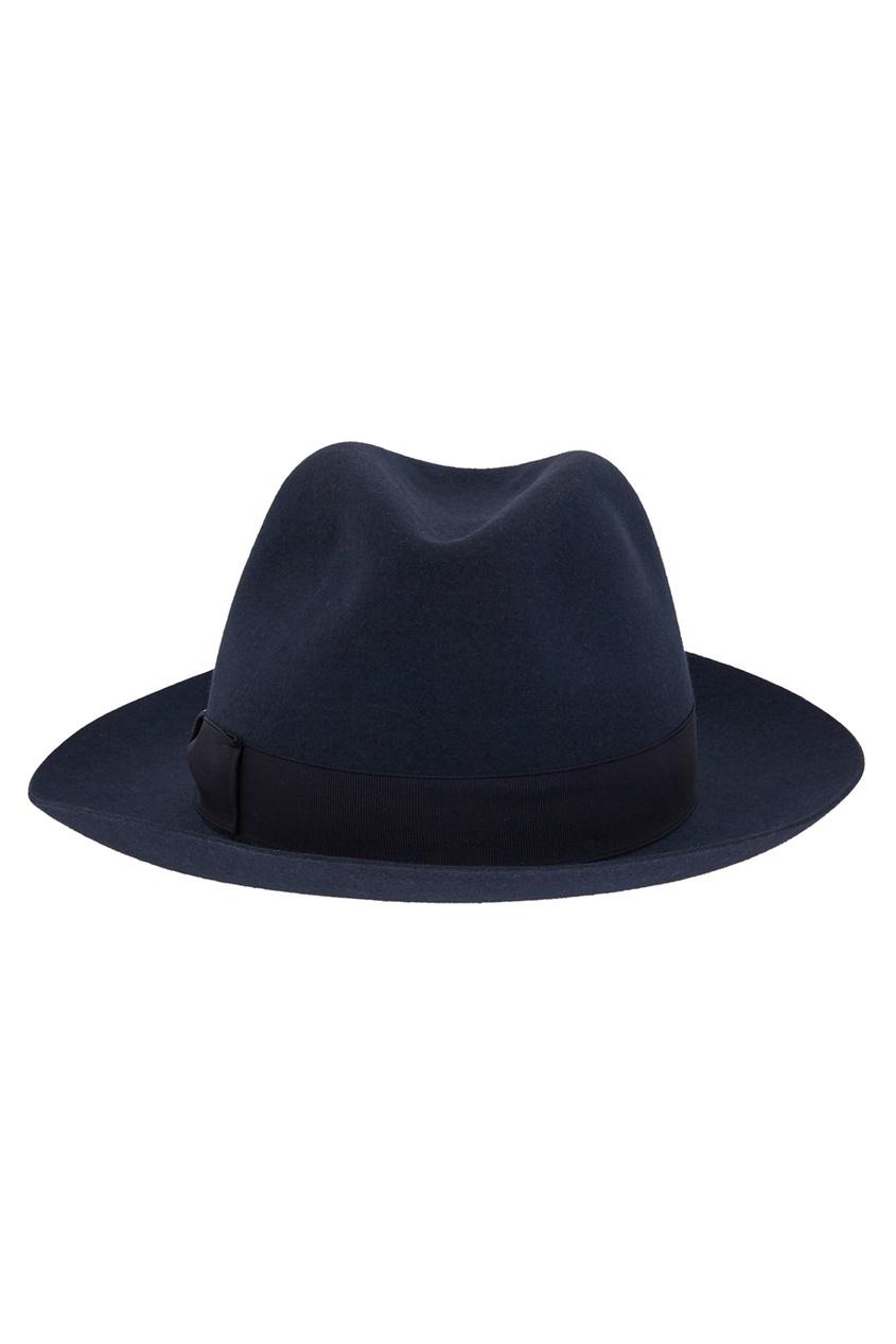 Фетровая шляпа с лентой