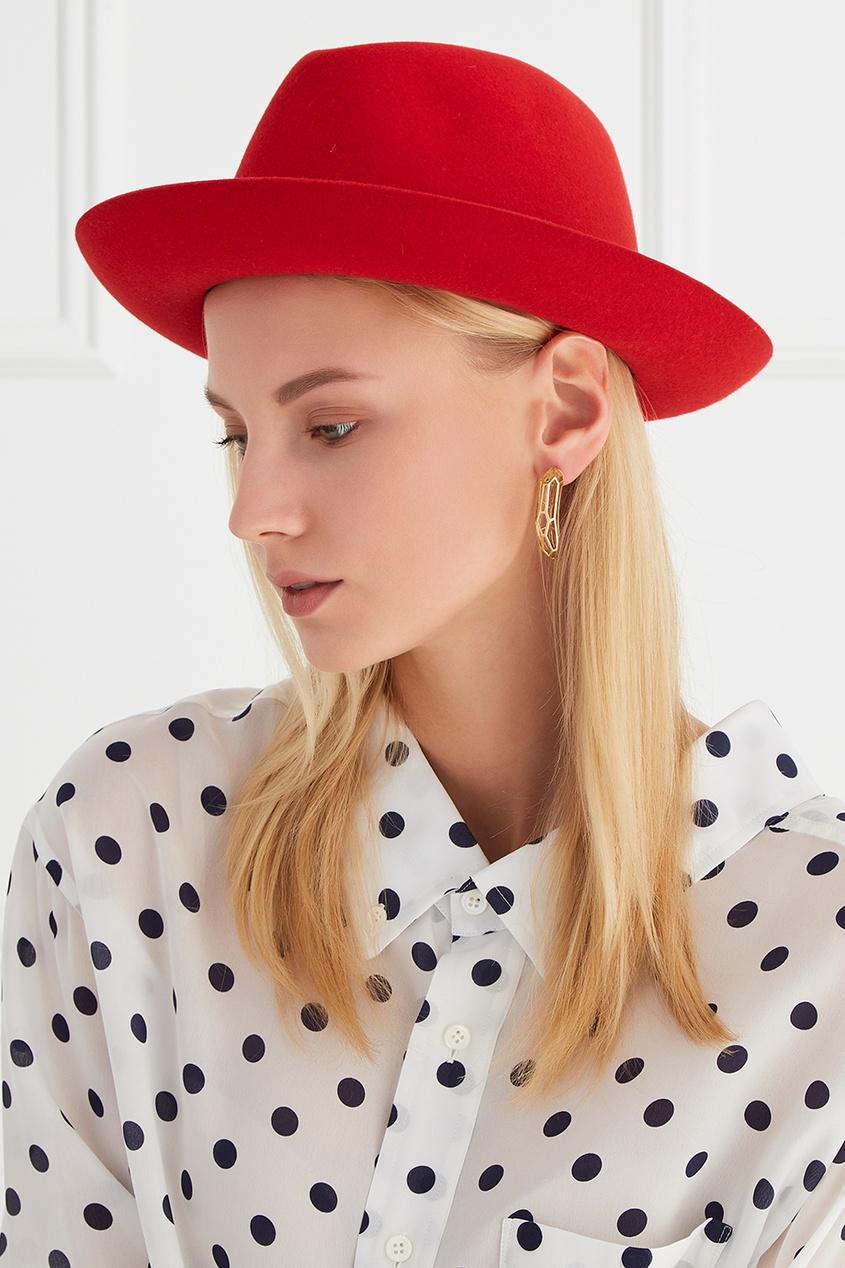 цена  Borsalino Фетровая шляпа с лентой  онлайн в 2017 году