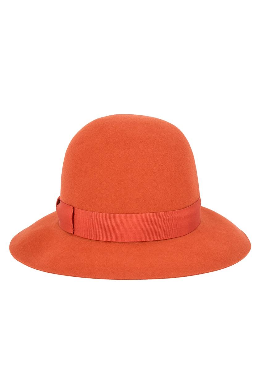 Borsalino Фетровая шляпа с лентой