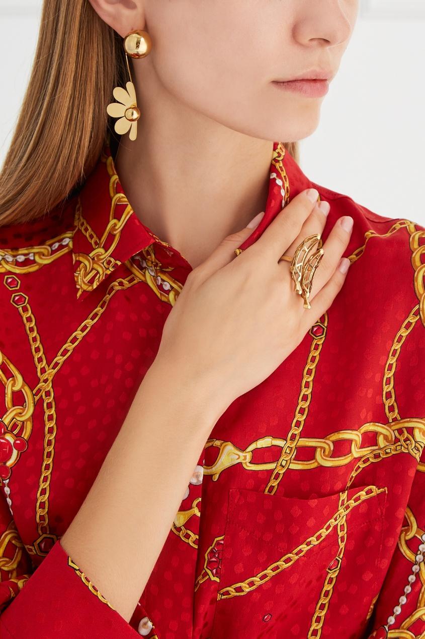 Natasha Zinko Позолоченное кольцо