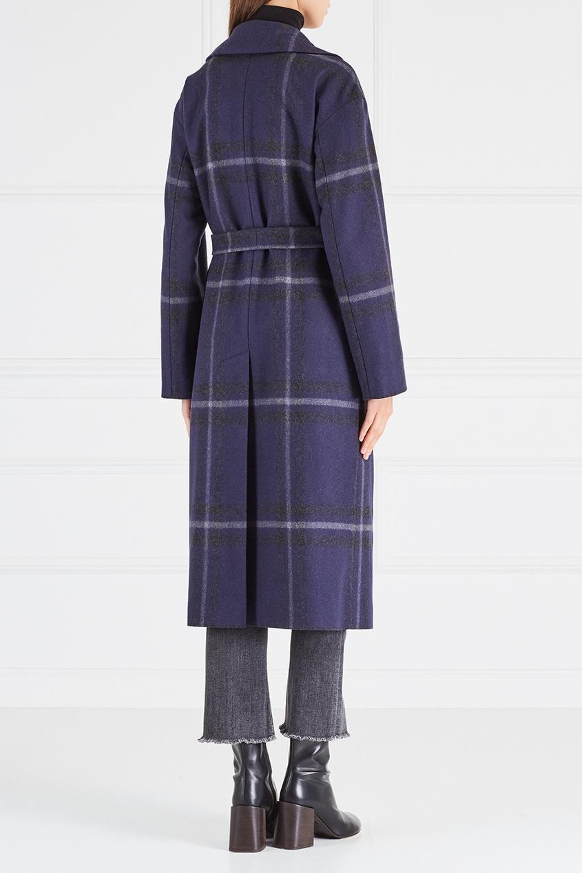 Luda Nikishina Шерстяное пальто prada шерстяное пальто