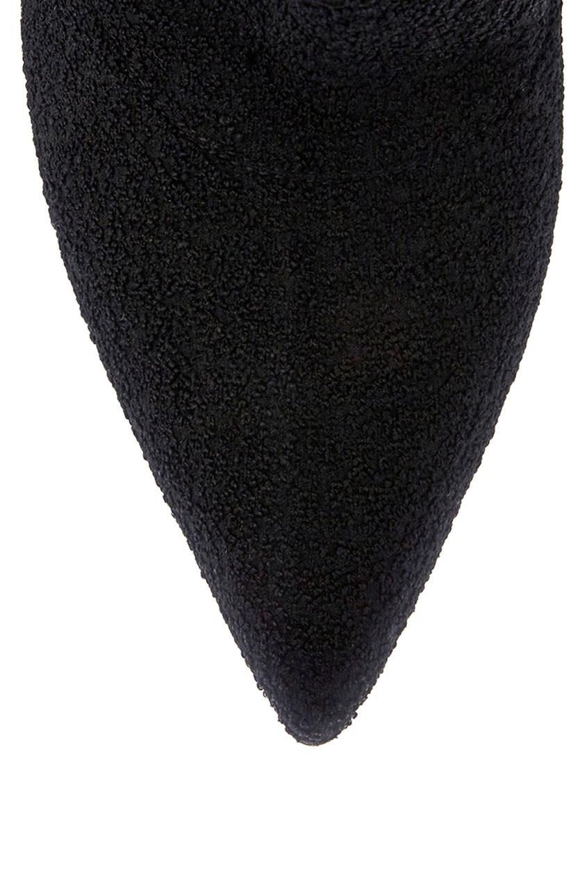 Gianvito Rossi Текстильные ботфорты ботфорты секси на шпильке