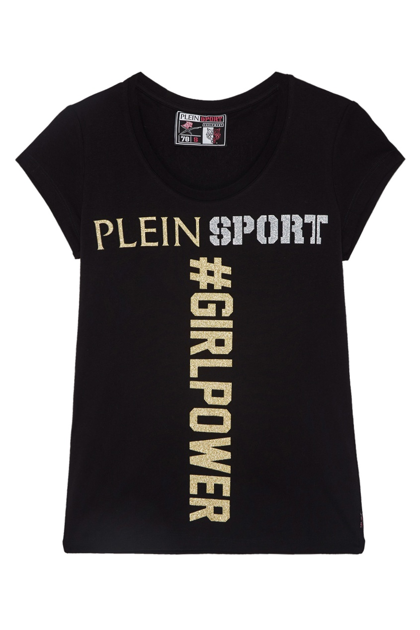 Plein Sport Хлопковая футболка