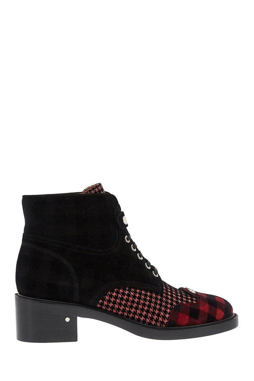 Кожаные ботинки Pegase Rose