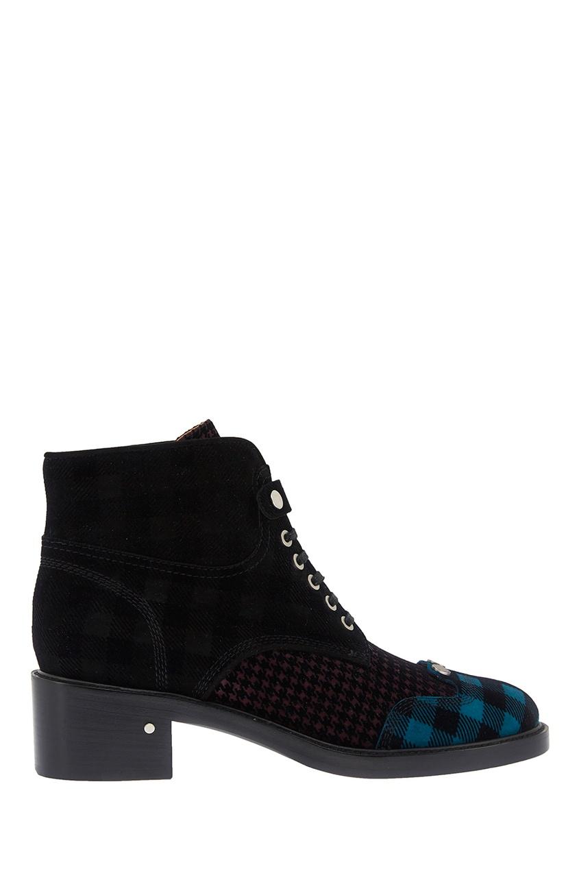 Кожаные ботинки Pegase Blue