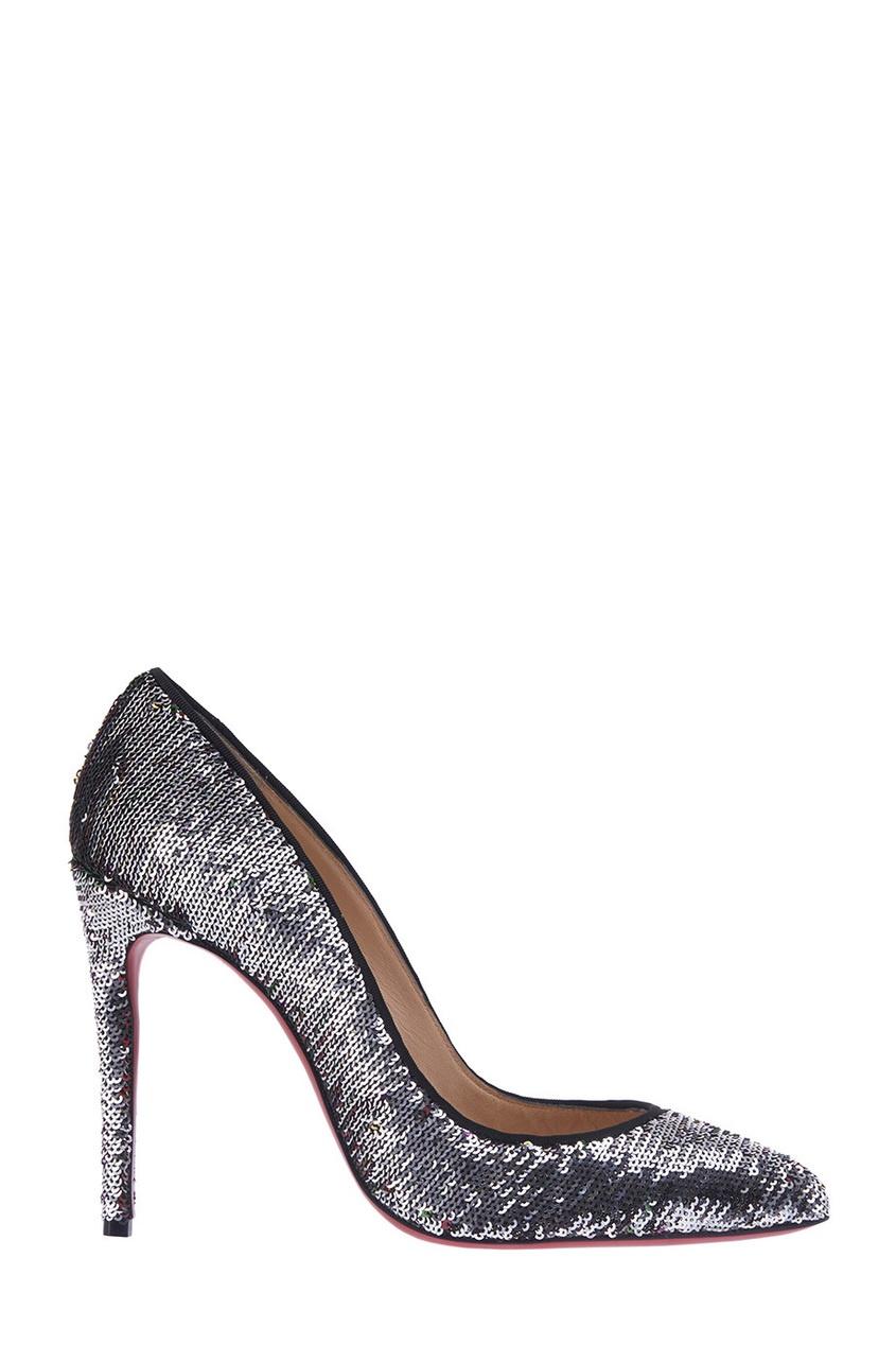 Туфли с пайетками Pigalle Follies 100