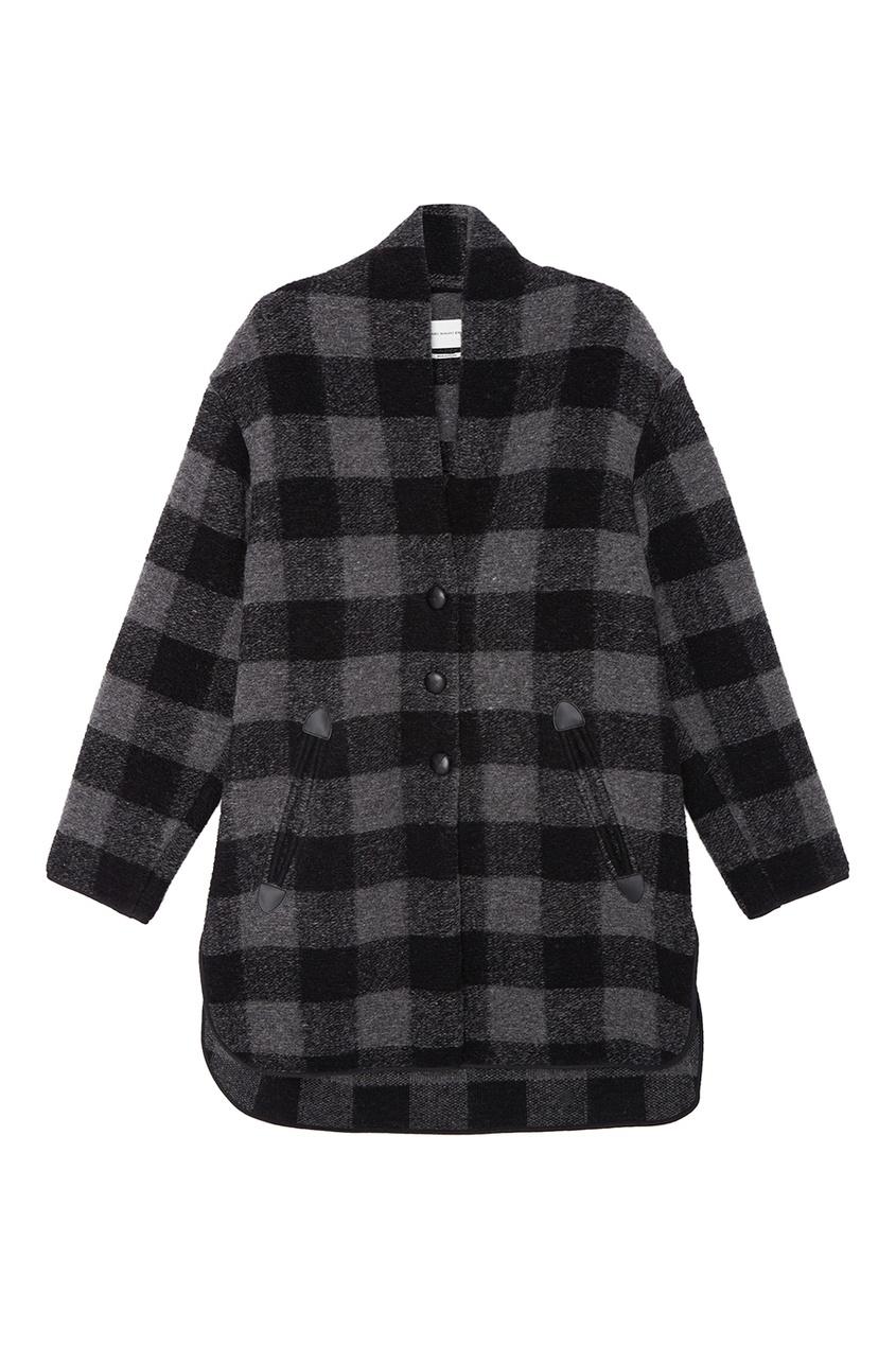 Шерстяное пальто Gino