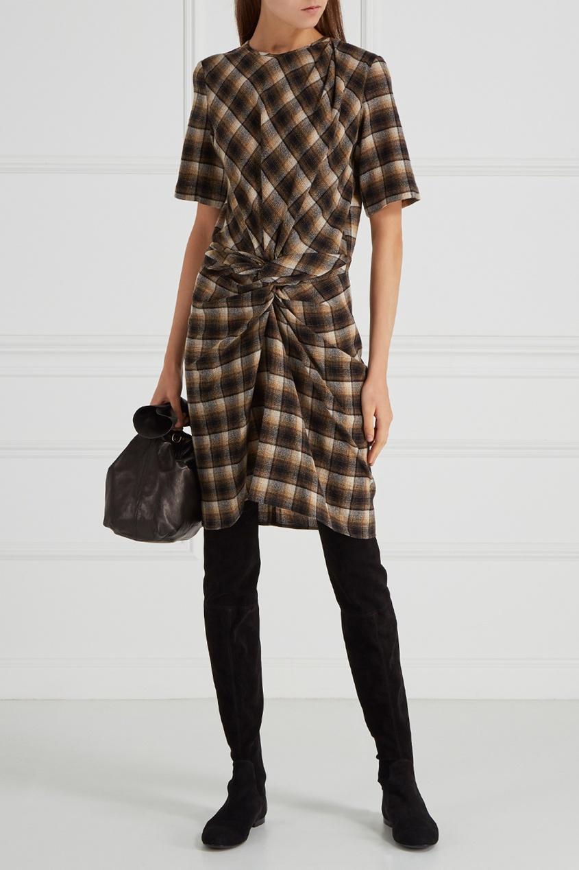 где купить Isabel Marant Etoile Шерстяное платье Pardena по лучшей цене