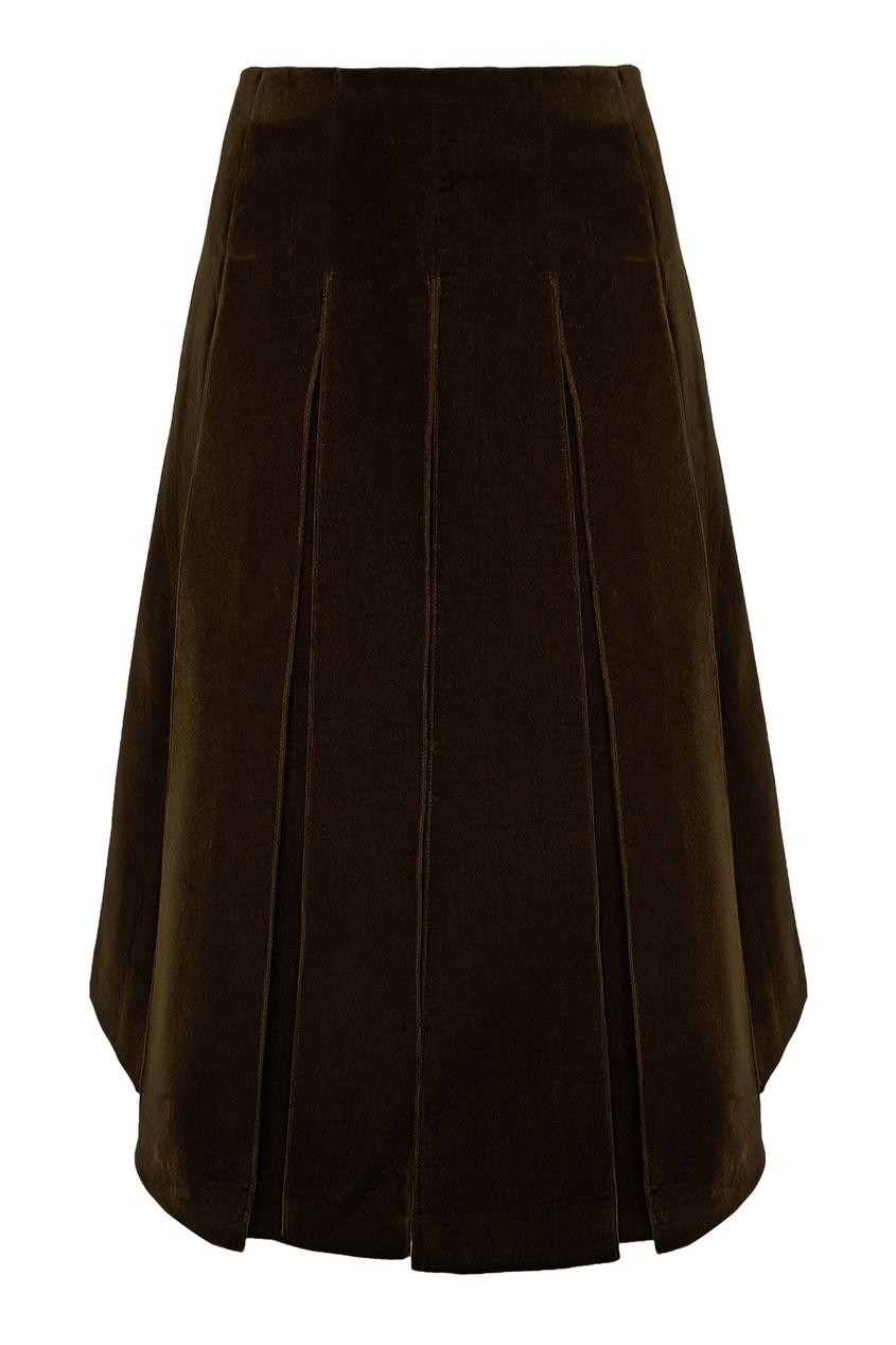 цена Simone Rocha Бархатная юбка онлайн в 2017 году