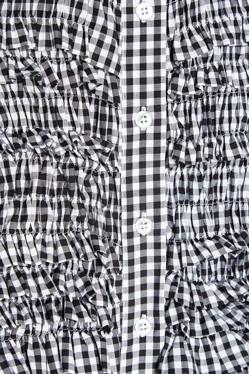 цена Simone Rocha Хлопковое платье-рубашка онлайн в 2017 году