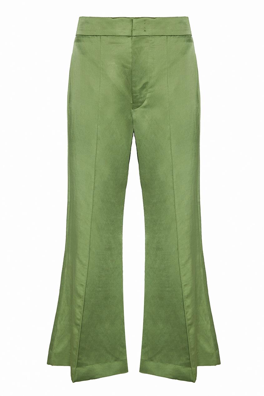Isabel Marant Атласные брюки Edrio