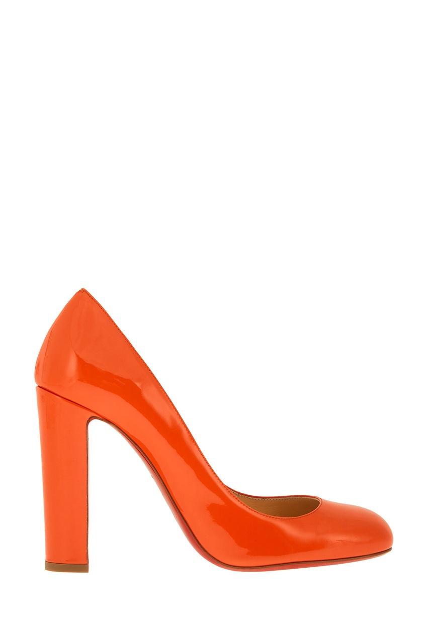 Туфли из лакированной кожи Cadrilla 100