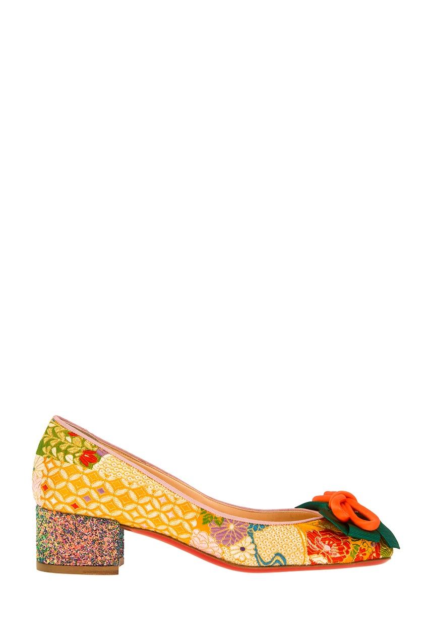 Жаккардовые туфли Dolly Dola 35