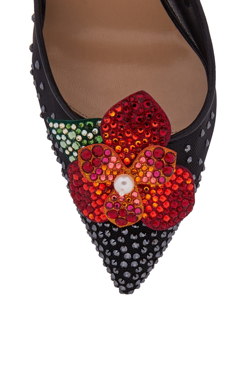 Туфли с кристаллами Feerica 100
