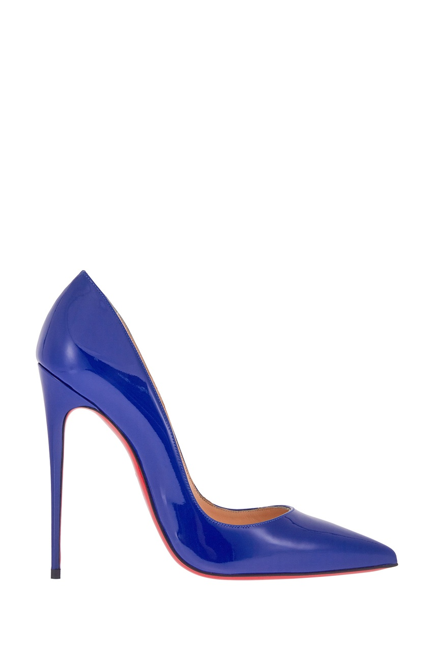 Кожаные лакированные туфли So Kate 120