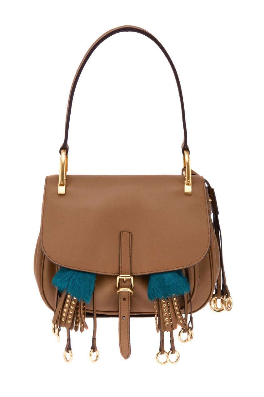Кожаная сумка Corsaire