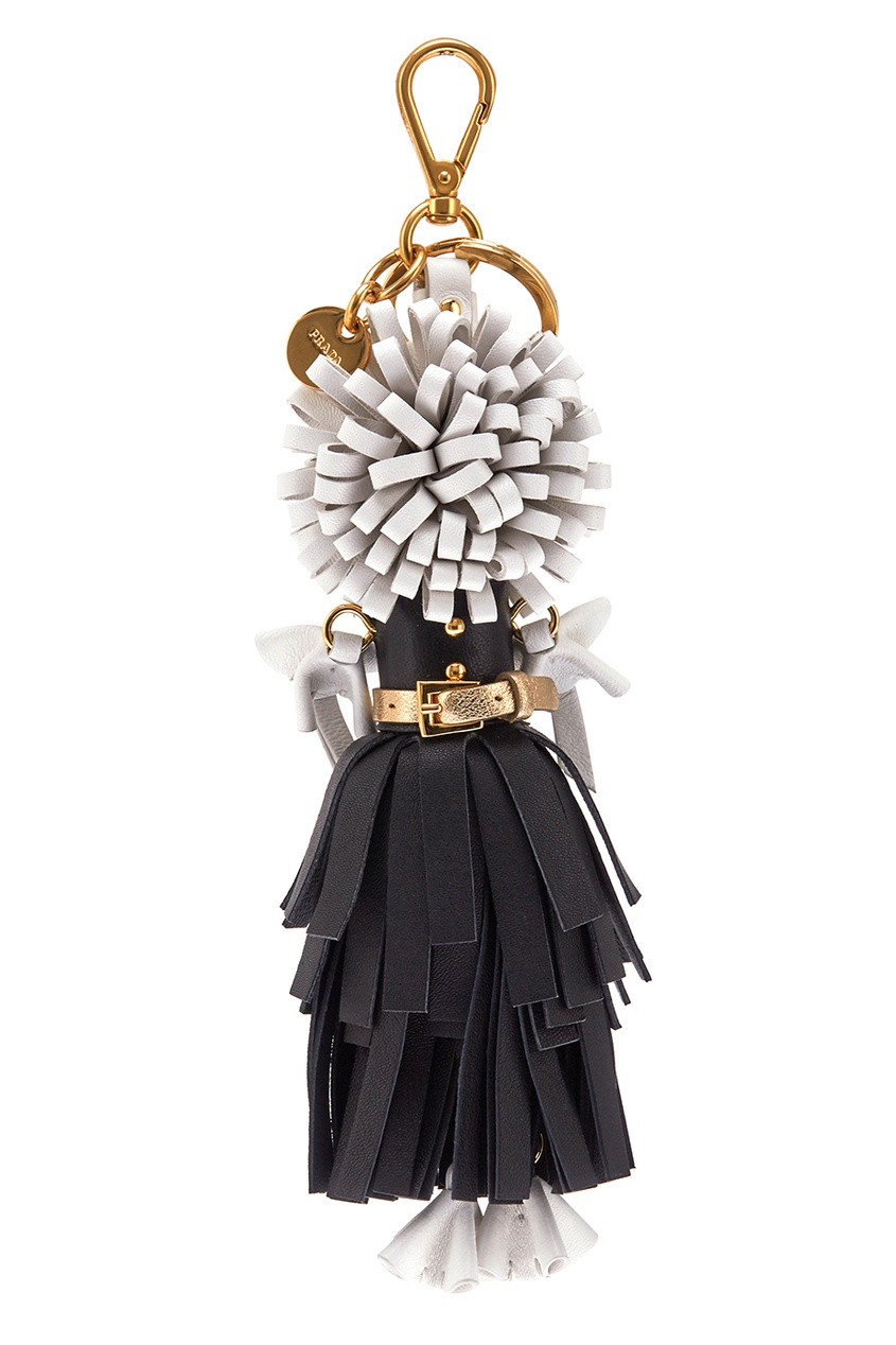 Prada Брелок в виде куклы Wendy игрушка брелок ферби на цепочке