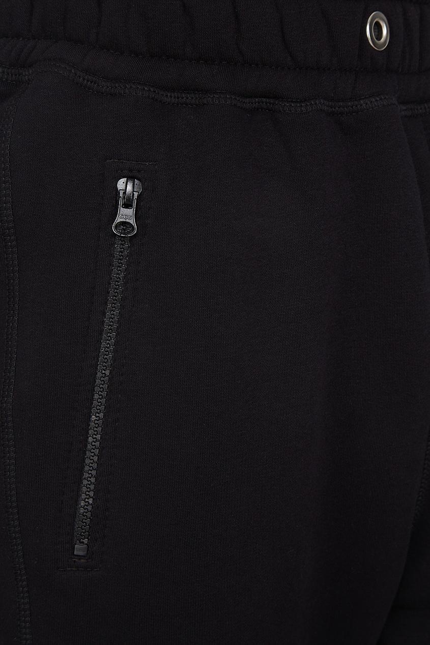 Купить со скидкой Черные спортивные брюки