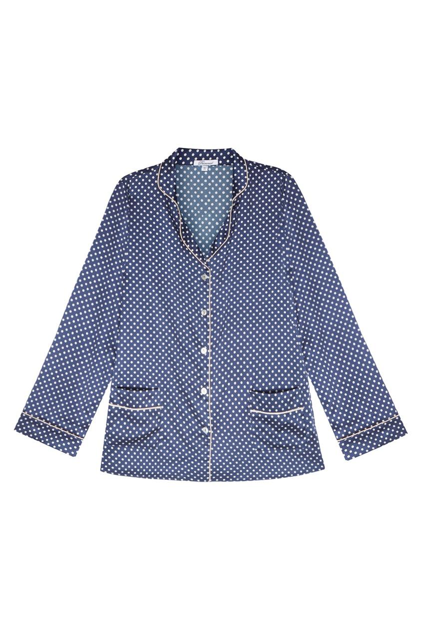 Primrose Шелковая пижама с шортами