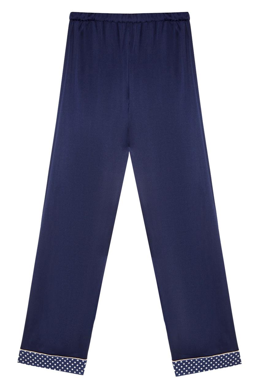 Шелковая пижама с брюками
