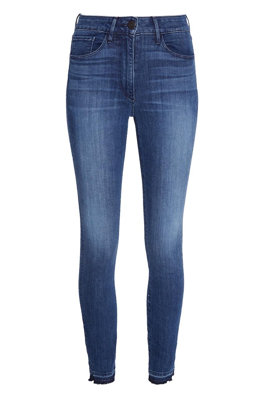 3х1 Выбеленные джинсы-скинни джинсы скинни 5 карманов длина 7 8 д 30