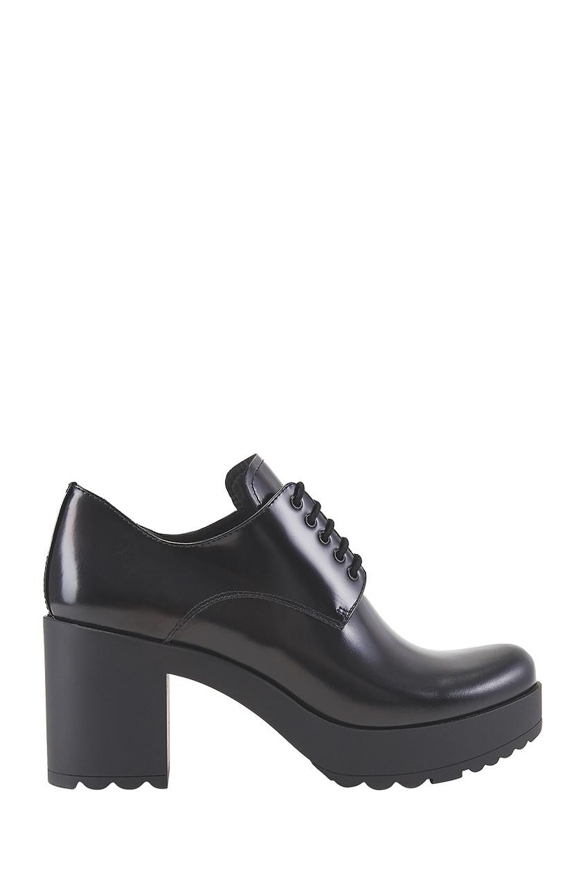 Prada Кожаные ботинки экспресс хна для мехенди рыжая pranastudio