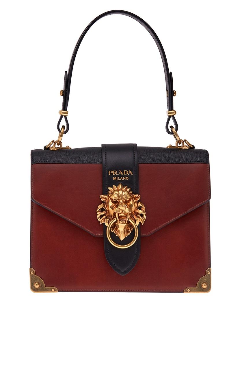 Prada Кожаная сумка Cahier
