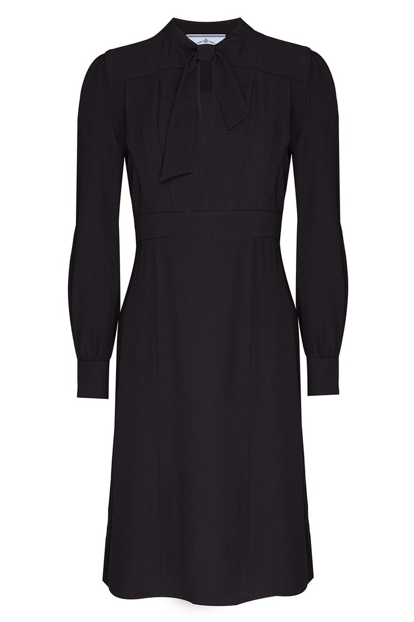 цена  Prada Однотонное платье  онлайн в 2017 году