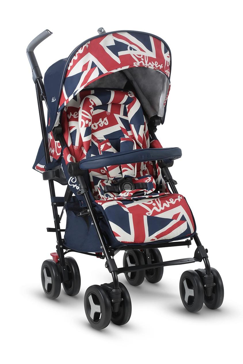 Silver Cross Прогулочная коляска Reflex Cool Britannia прогулочная коляска cool baby kdd 6795dc 1 green