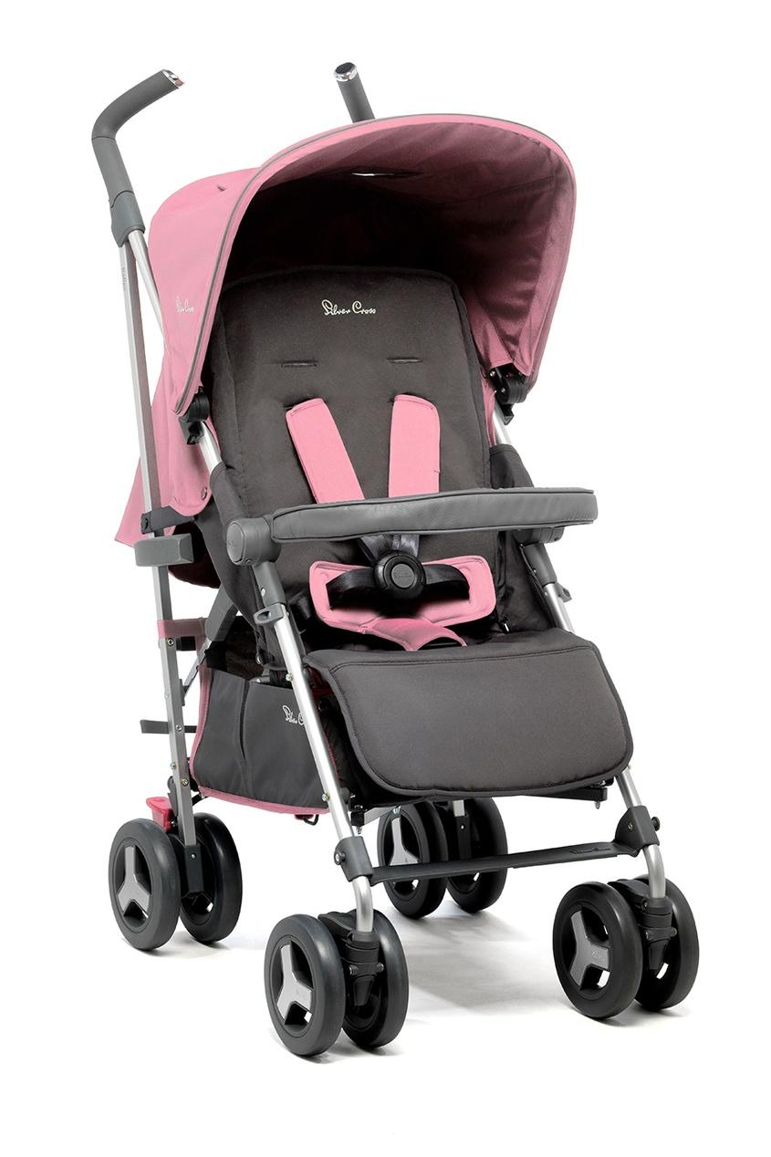 Silver Cross Прогулочная коляска Reflex Vintage Pink прогулочная коляска carmella princess pink