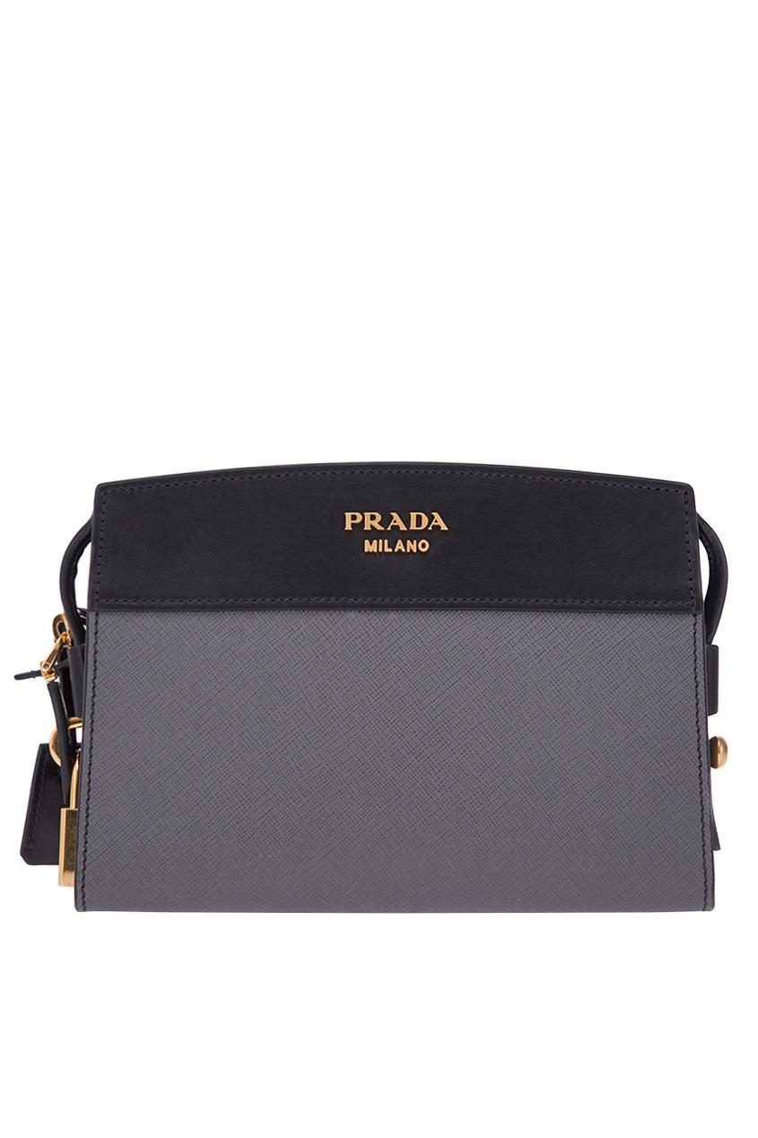 Prada Кожаная сумка Esplanade