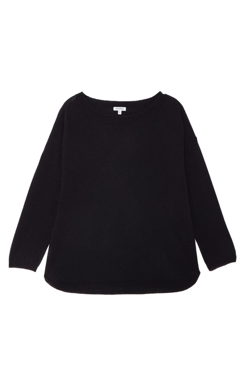 MYONE Кашемировый костюм черный myone пуловер из шелка и хлопка