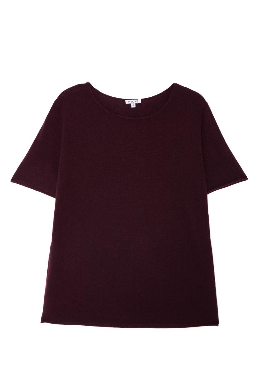 MYONE Кашемировый костюм бордовый myone пуловер из шелка и хлопка