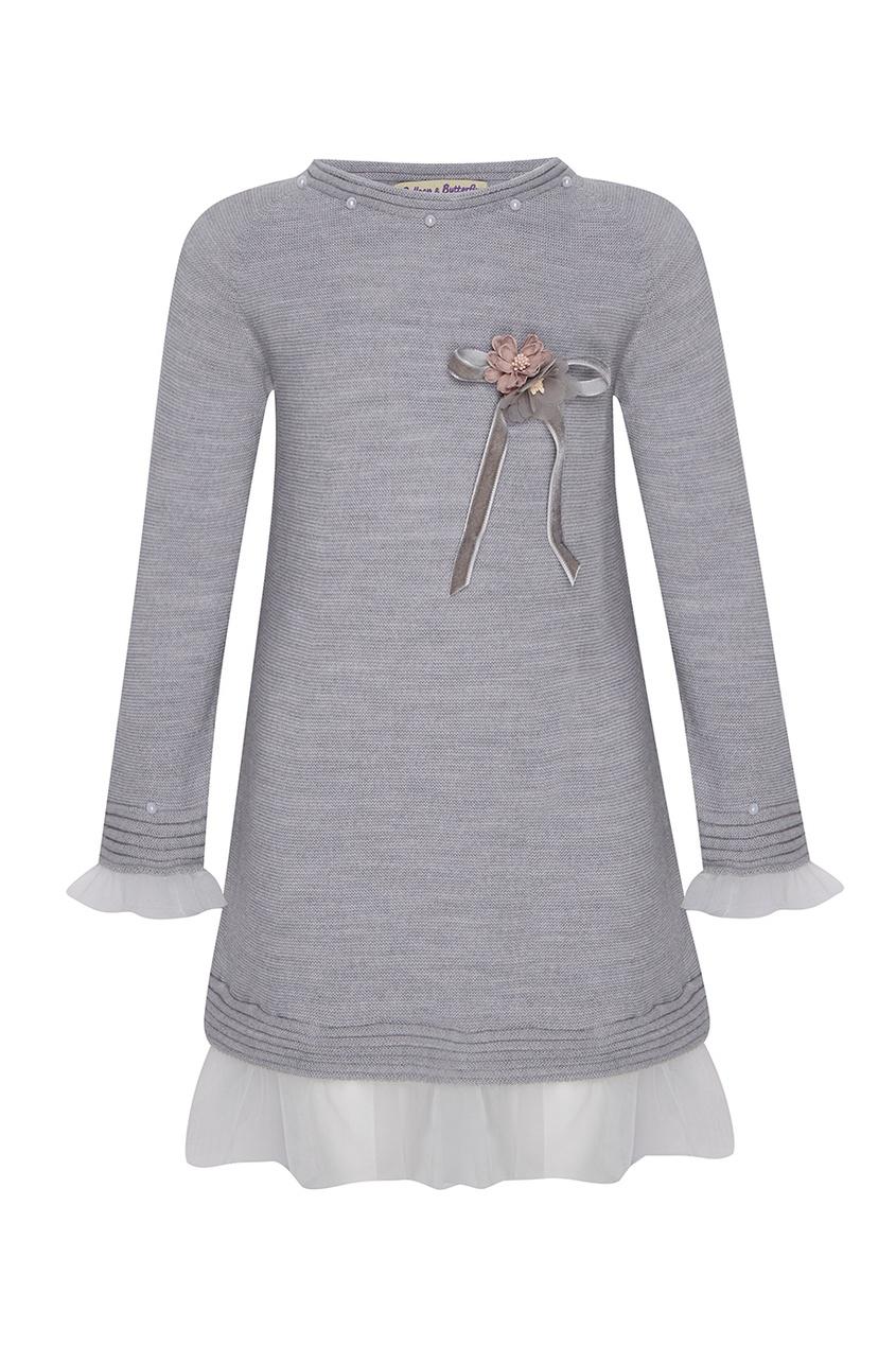 Платье из мериносовой шерсти