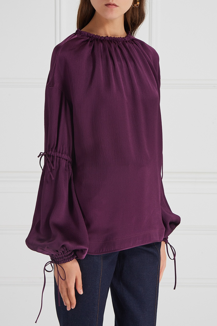 Aquilano.Rimondi Шелковая блузка блузки анна чапман блузка