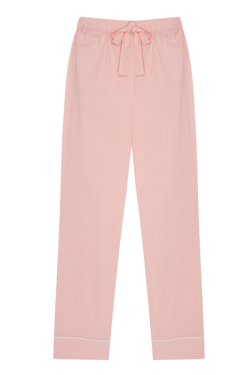 Розовая хлопковая пижама