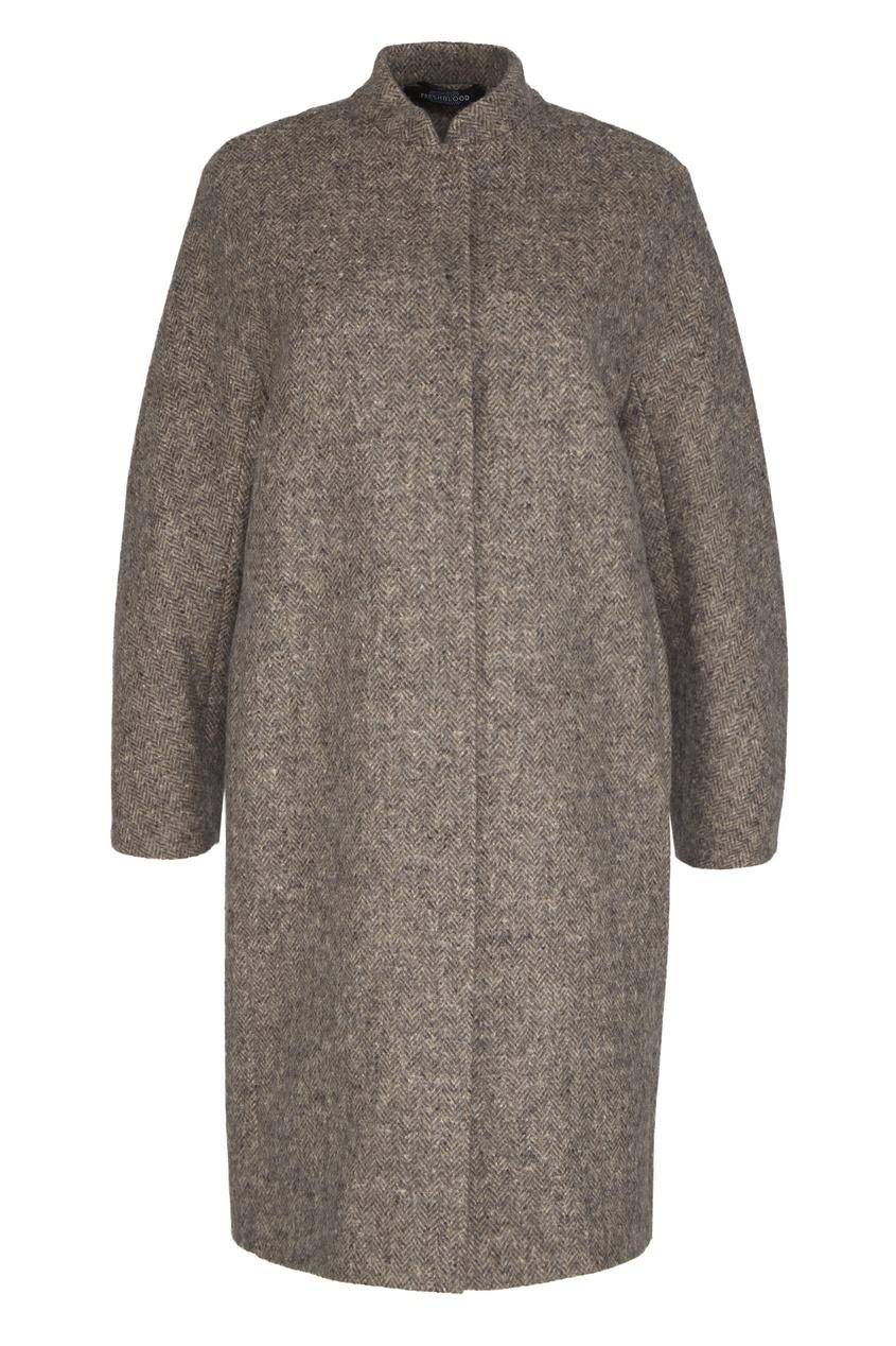 Freshblood Пальто из шерсти и альпаки freshblood брюки с принтом