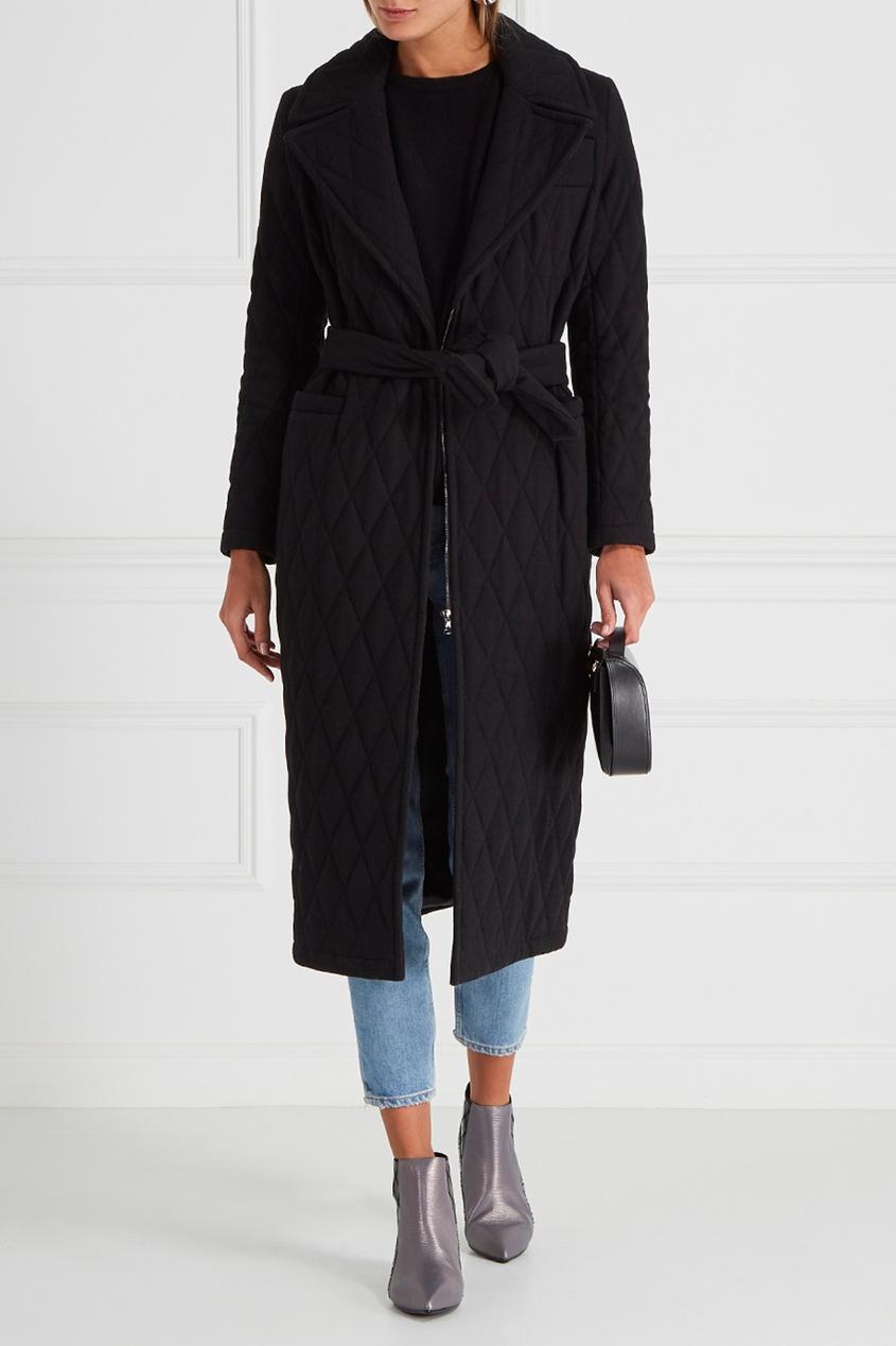 I Am  Studio Шерстяное стеганое пальто dimma fashion studio пальто велиа салатовый